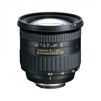 Tokina AT-X 16.5-135 mm DX f/3.5-5.6 (Nikon DX digital)