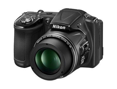 Nikon Coolpix L830 Black (VNA600E1)