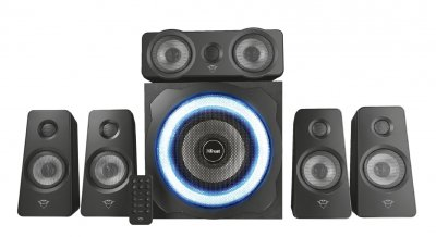 Домашній кінотеатр 5.1 Trust GXT 658 Tytan Surround Speaker System Black