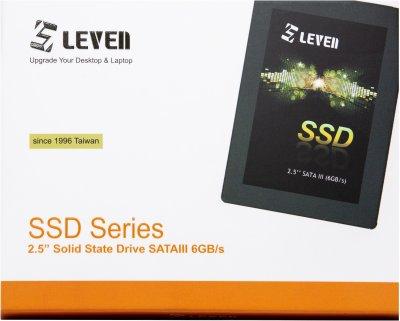 """Leven JS600 128GB 2.5"""" SATAIII TLC (JS600SSD128GB)"""