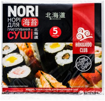 Норі Hokkaido Club 5 листів (4820172440079)
