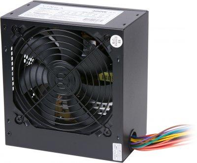 Блок живлення Vinga 400W (PSU-400-12 black) пасивний, 1x120 мм