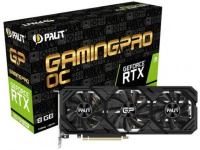 Відеокарта GF RTX 2070 Super 8GB GDDR6 GamingPro OC Palit (NE6207ST19P2-180T)