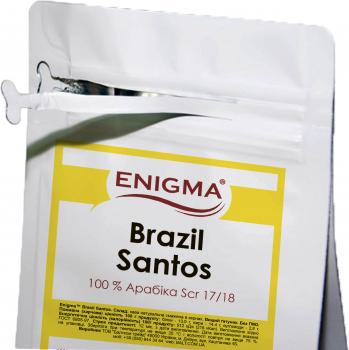 Кофе в зернах Enigma Brasil Santos 1 кг (4000000000001)