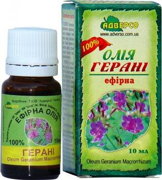 Олія ефірна Адверсо Геранієва 10 мл (4820104010059)