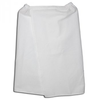 Парео вафельное белое (60*130 см)