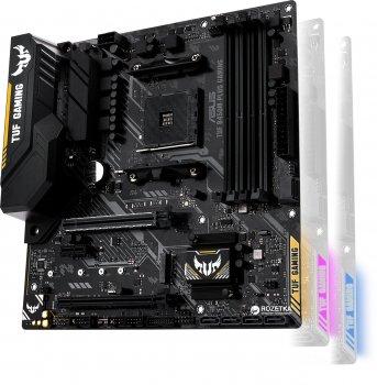 Материнская плата Asus TUF B450M-Plus Gaming (sAM4, AMD B450, PCI-Ex16)