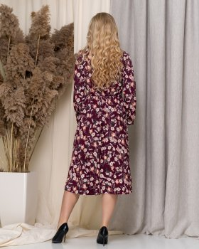 Платье ELFBERG 5182 Бордовое
