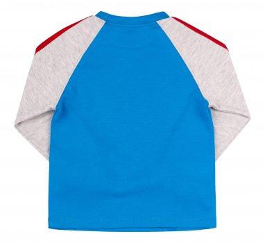Футболка с длинным рукавом Бемби ФБ708 голубой серый (247080111.4X0)