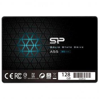 Накопичувач SSD 128GB 2.5 Silicon Power (SP128GBSS3A55S25) (WY36SP128GBSS3A55S25)