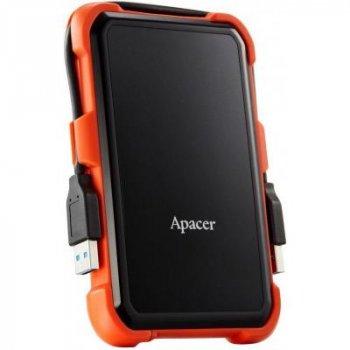 Зовнішній жорсткий диск 2.5 2TB Apacer (AP2TBAC630T-1) (WY36AP2TBAC630T-1)