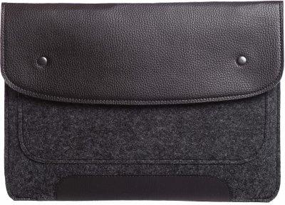 "Чохол для ноутбука Gmakin для Macbook Pro 15"" Black/Grey (GM01-15)"