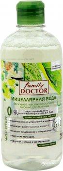 Міцелярна вода Family Doctor для жирної, чутливої шкіри 500 мл (4823080001875)
