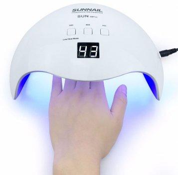 Лампа для полимеризации Protech Sun X9 Plus 48W White (PP-1240)