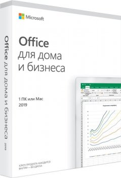 MS Office 2019 Home and Business Russian Medialess P6 (T5D-03363)