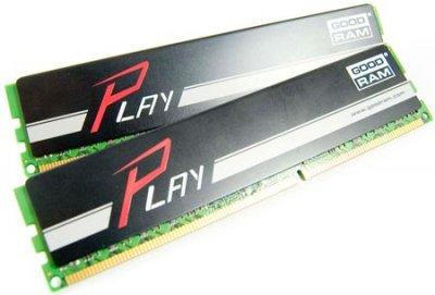 Модуль пам'яті DDR3 2x4GB/1866 GOODRAM Play Black (GY1866D364L9AS/8GDC)