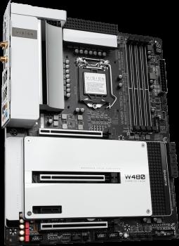Материнская плата Gigabyte W480 VISION D (s1200, Intel W480, PCI-Ex16)