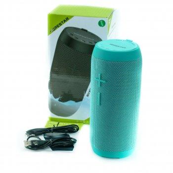 Портативная Bluetooth колонка Hopestar Flip Original водонепроницаемая Бирюзовая (P7)