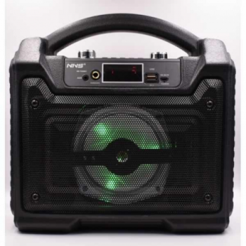 Портативна колонка з мікрофоном Bluetooth NNS (NS-T20MIC) Чорна