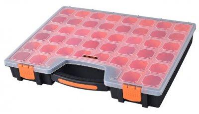 Органайзер Пластиковый Переносной с Ручкой Для(Мелочей)Метизов 41х33х6см 22 ячейки TACTIX 320014