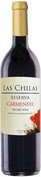 Вино Las Chilas Reserva Carmenere красное сухое 0.75 л 12.5% (7808765731558)