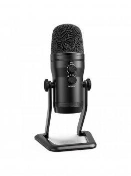 Студійний USB мікрофон Fifine K690 для стрімів подкасту з вибором типу спрямованості