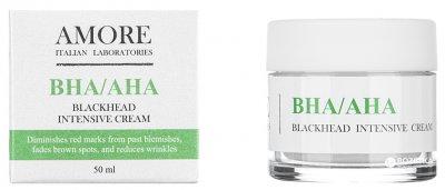 Концентрированный крем Amore BHA / AHA с кислотами против черных точек и акне 50 мл (4855490062214)