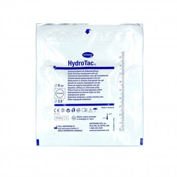 Гидрогелевая губчатая повязка Hydrotac Ø 6 см, 1 шт