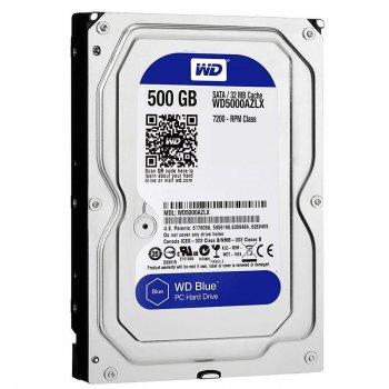"Жорсткий диск Western Digital Blue 500GB 3,5"" SATAIII 7200rpm 32MB (WD5000AZLX)"