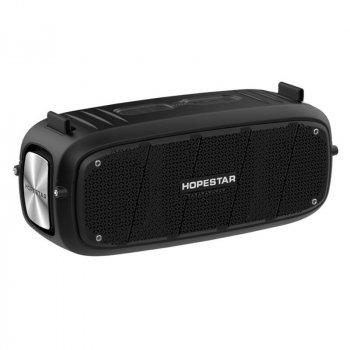 Портативна бездротова Bluetooth колонка Hopestar A20 Pro 55Вт Black з вологозахистом IPX6 і функцією зарядки пристроїв (A20B)