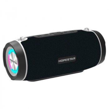 Портативна бездротова Bluetooth колонка Hopestar Hopestar H45 Party 10Вт Black з вологозахистом IPX7 і функцією зарядки пристроїв (H45B)
