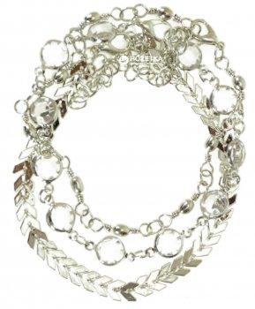 Набор браслетов (3 шт) TRAUM 4228-82 Серебристый (4820004228820)