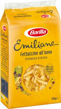 Макароны Barilla Emiliane Fettuccine Фетучине с яйцом 250 г (8076809514767)