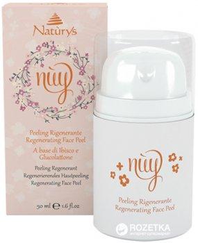 Восстанавливающий пилинг для лица Bema Cosmetici Natùrys Nùy Regenerating Face Peel 50 мл (8010047114846)