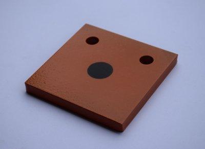 Гонг мішень квадрат 100х100 Сателіт (605)