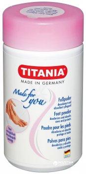 Дезодорирующий тальк Titania для ступней ног 100 г (5322)