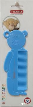 Расческа детская Медвежонок Titania 1815 Синяя (4008576317016_blue)