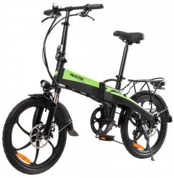 Электровелосипед Maxxter Ruffer Black-Green