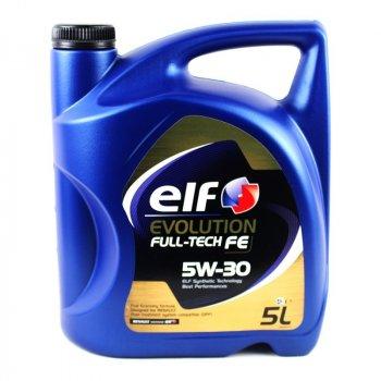 Моторное масло ELF Evolution Full-Tech FE 5W-30 5L (194908)