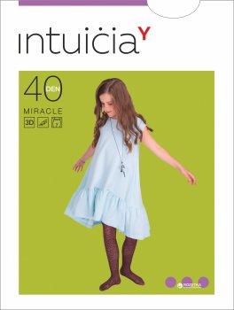 Колготки Intuicia Miracles 40 Den 116-122 см Cherry (4823072910345)