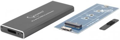 Внешний карман Gembird для HDD/SSD M.2 (NGFF) USB 3.0 (EE2280-U3C-01)