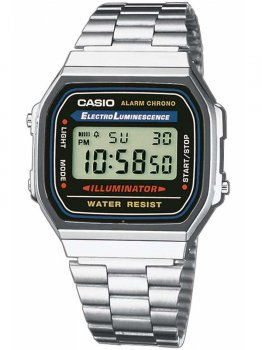 Годинник CASIO A168WA-1YES Collection 35mm 3ATM