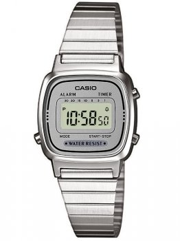 Годинник CASIO LA670WEA-7EF Collection Damen 24mm 3ATM