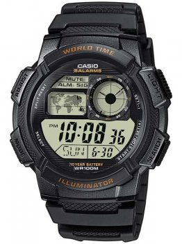 Часы CASIO AE-1000W-1AVEF Collection 44mm 10ATM