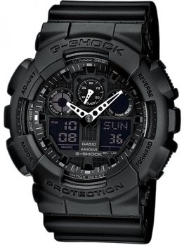 Часы CASIO GA-100-1A1ER G-SHOCK 51mm 20ATM