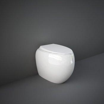 Унитаз Напольный Rak Ceramics Cloud Clowc1346Awha Без Ободка, Белый 118192