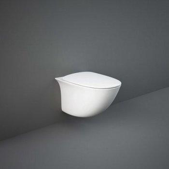 Унитаз Подвесной Rak Ceramics Sensation Senwc1446Awha Безободковый 118399