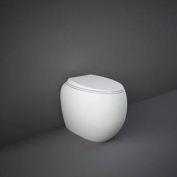 Унитаз Напольный Rak Ceramics Cloud Clowc1346500A Безободковый, Белый Матовый 118188