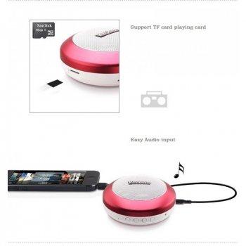 Колонка Bluetooth Yoobao Mini-Speaker YBL201 silver