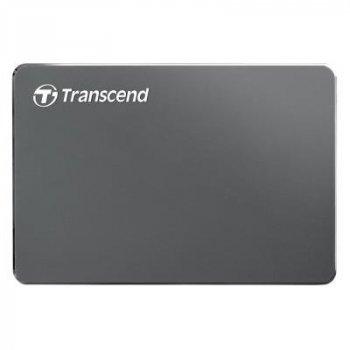 """Зовнішній жорсткий диск 2.5"""" 2TB Transcend (TS2TSJ25C3N)"""
